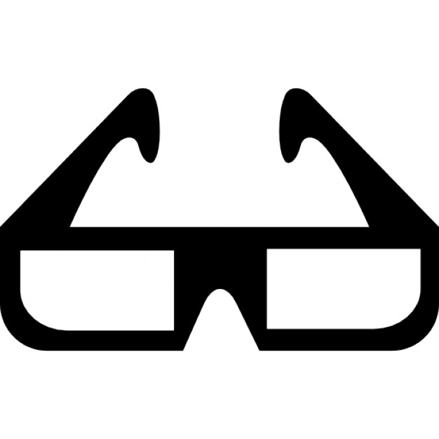 626x626 3d Cinema Glasses Icons Free Download