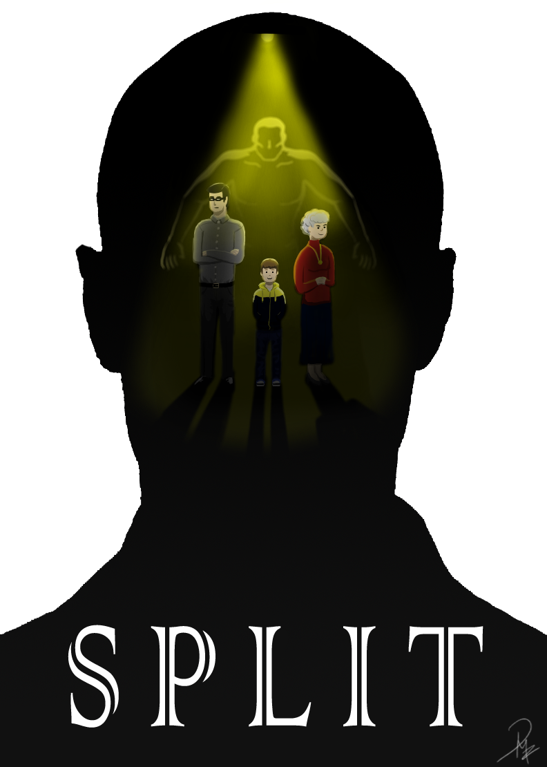 792x1110 Split Fanart Movie Poster By Rdmf95