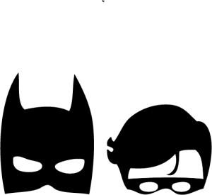 300x275 Batman Clipart Silhouette