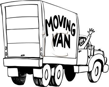 350x279 Man In A Moving Van Waving Goodbye