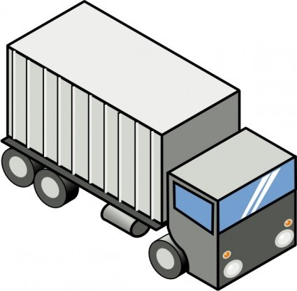 425x417 Moving Truck Clip Art, Free Vector Moving Truck