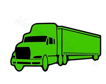 340x270 Semi Truck Svg Etsy