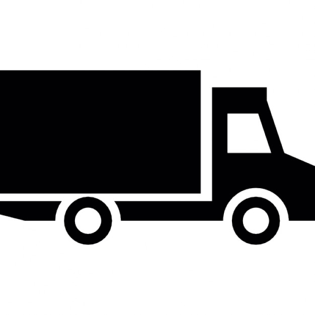 626x626 Truck Side View Icons Free Download