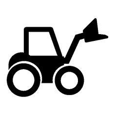 236x236 Vrachtwagen Flockfolie. Cameo Silhouette Clip Art Dump Truck