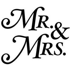 236x236 Mr. And Mrs. Serif Serif, Silhouette Design And Silhouettes