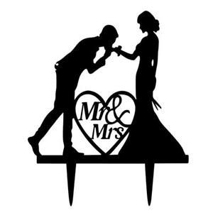 300x300 De Mariage Mr Amp Mrs Love Heart Bird Bat Silhouette
