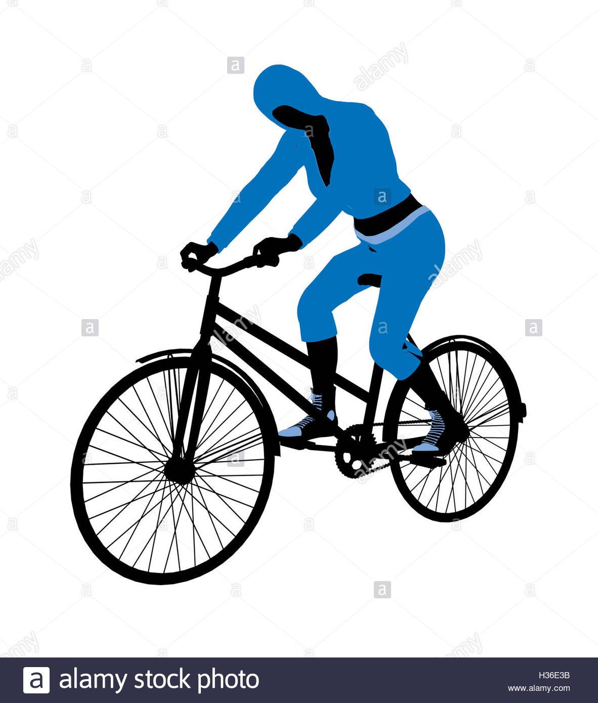1182x1390 Bike Rider Illustration Stock Photos Amp Bike Rider Illustration