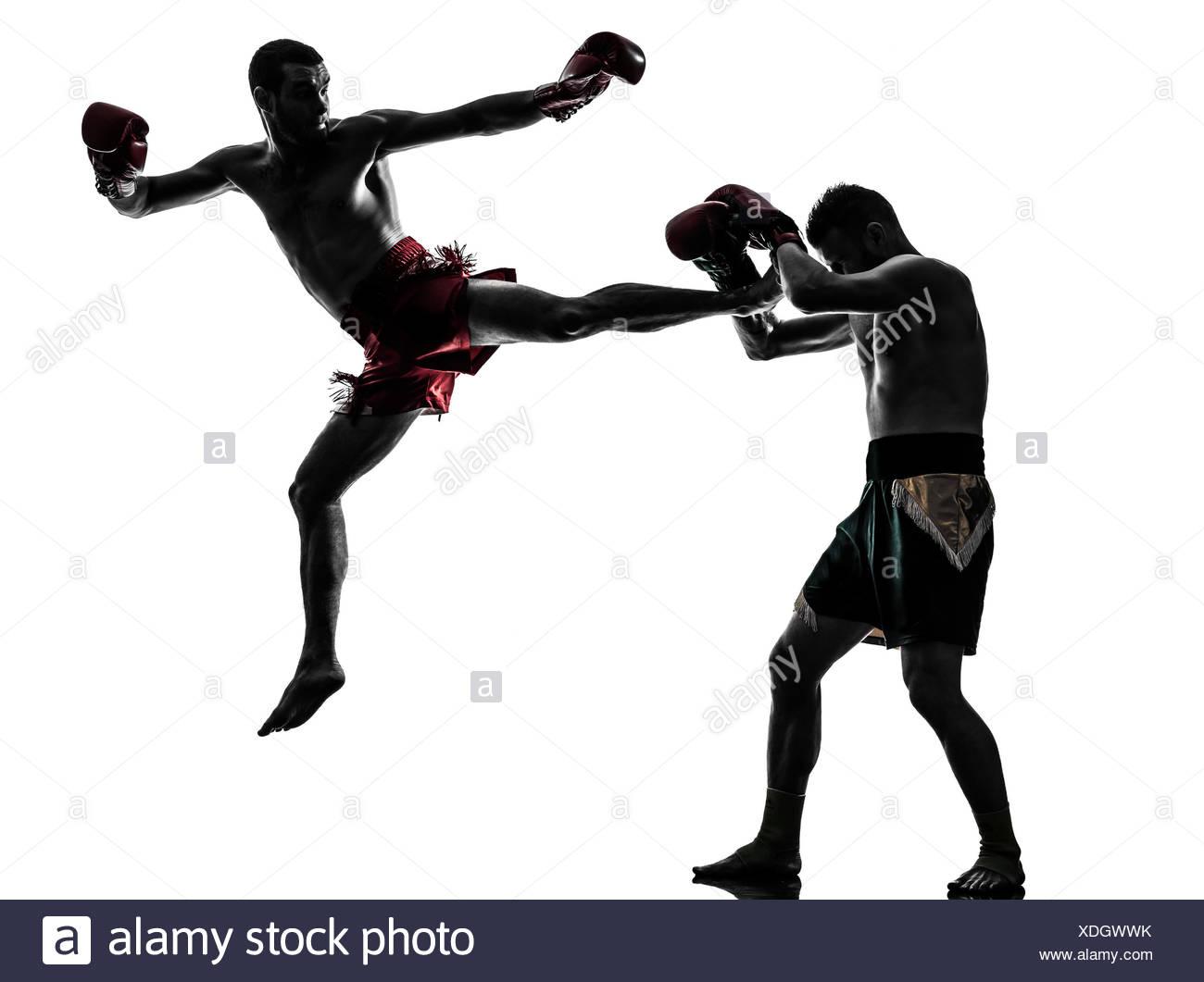 1300x1061 Silhouette Muay Thai Kick Boxer Stock Photos Amp Silhouette Muay