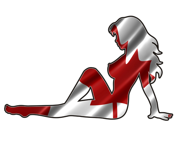 600x500 Mudflap Girl Stickers Rotten Remains
