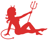 190x161 Devil Mudflap Girl By Billionaire Spreadshirt