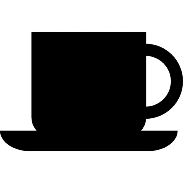 626x626 Coffee Cup Silhouette Icons Free Download