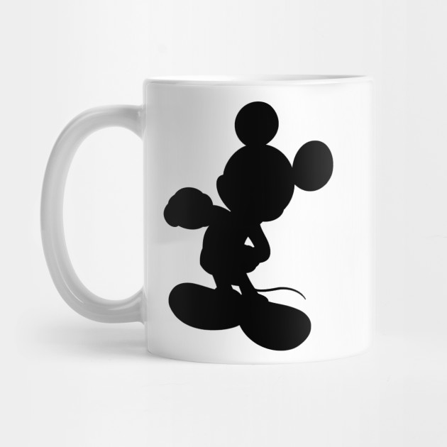 630x630 Mickey Mouse Silhouette