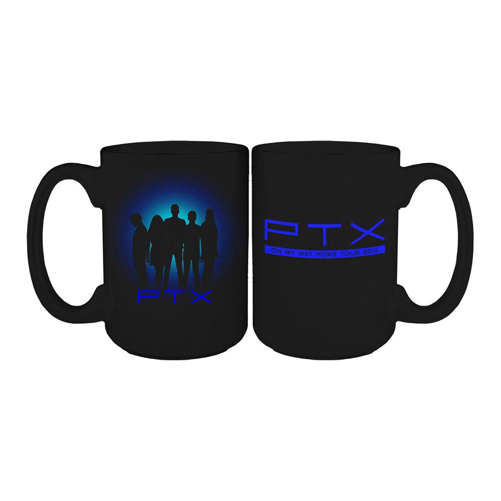 1000x1000 Pentatonix Official Store On My Way Home Tour Silhouette Mug