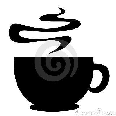 400x400 Coffee Mug Silhouettes
