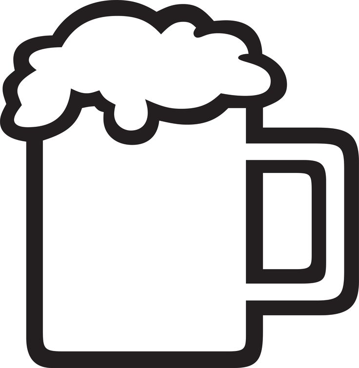 736x755 Beer Mug Silhouette Clipart Collection