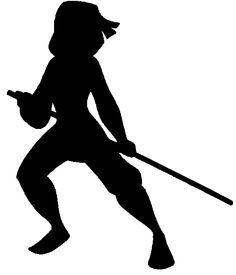 236x275 Mulan Silhouette Warrior
