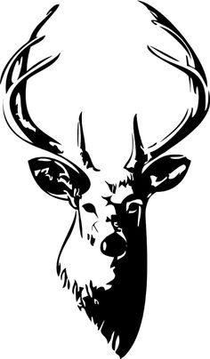 236x404 Free Deer Head Silhouette Clip Art Clipart Collection