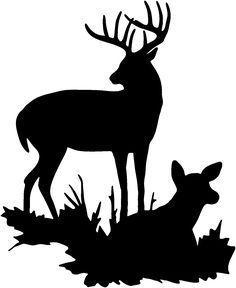 236x288 Cb11ab71183f4359cf06765f24932f4c Deer Silhouette Printable