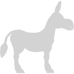 256x256 Light Gray Donkey Icon