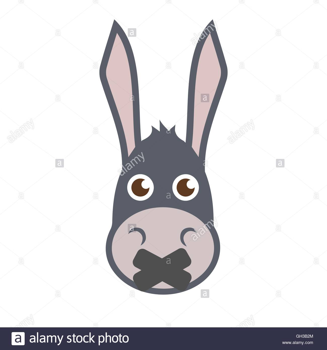 1300x1390 Mule Head Cut Out Stock Images Amp Pictures