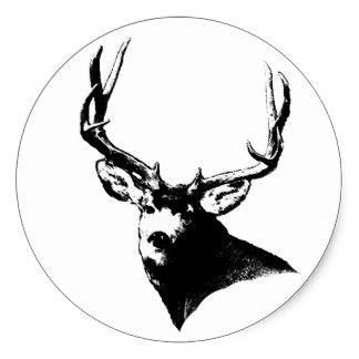 324x324 Bow Hunting Stickers Zazzle