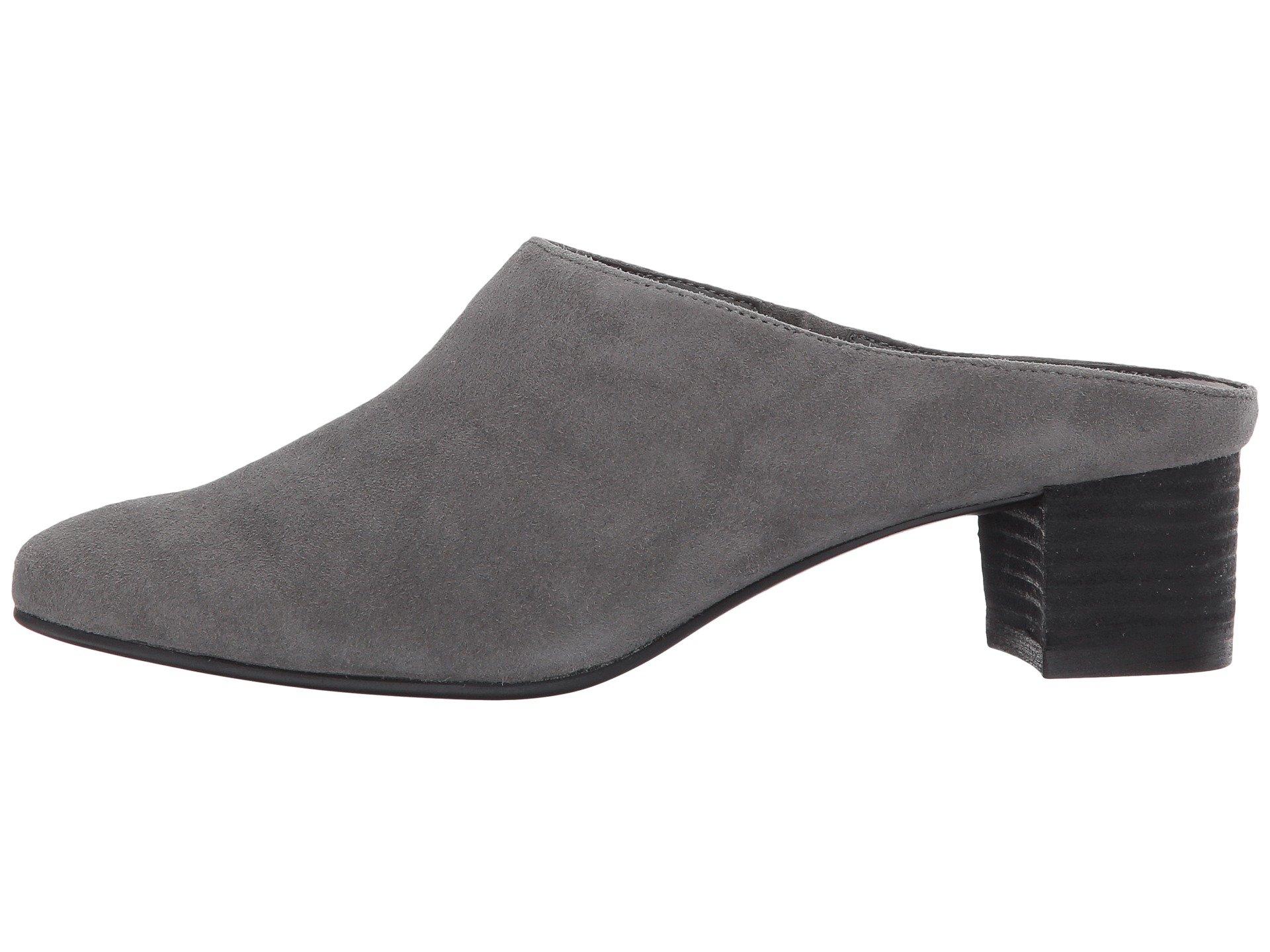 1920x1440 Aerosoles Women's Shoes Crash Pad Dark Gray Suede Leather Or Suede