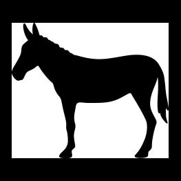 263x262 Mule Silhouette Siluetas, Moldes,dibujos,stencil Parte 3