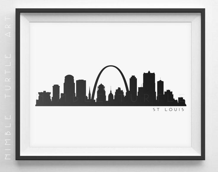 736x581 Chicago Skyline Silhouette