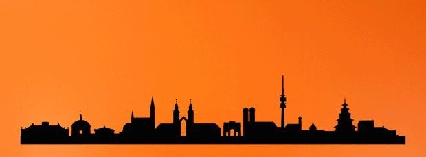 620x229 The Munich Skyline! This Would Be A Rad Tattoo On The Side Of Foot