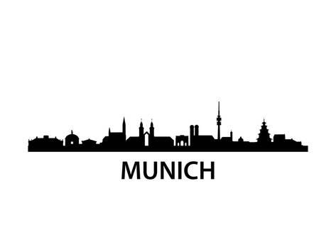 473x355 Munich Skyline Print By Unkreatives