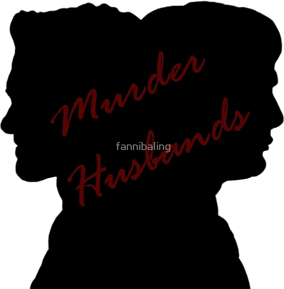 985x1000 Hannibal Murder Husbands Silhouette By Fannibaling Redbubble