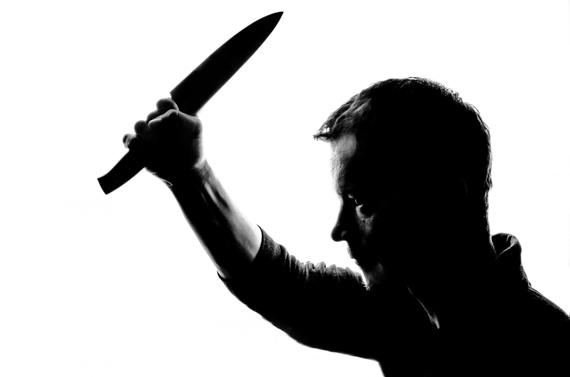 1920x1271 Horror Silhouette Of Man With Knife Free Stock Photo