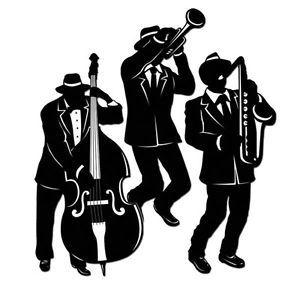 300x300 Jazz Trio Silhouette