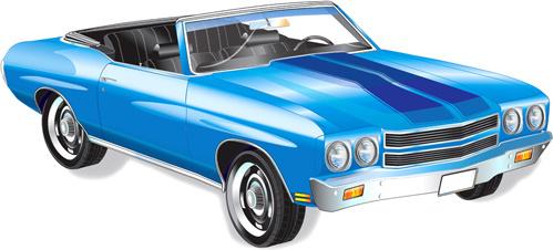 499x226 Retro Car Vector Free Vector Download (7,989 Free Vector)
