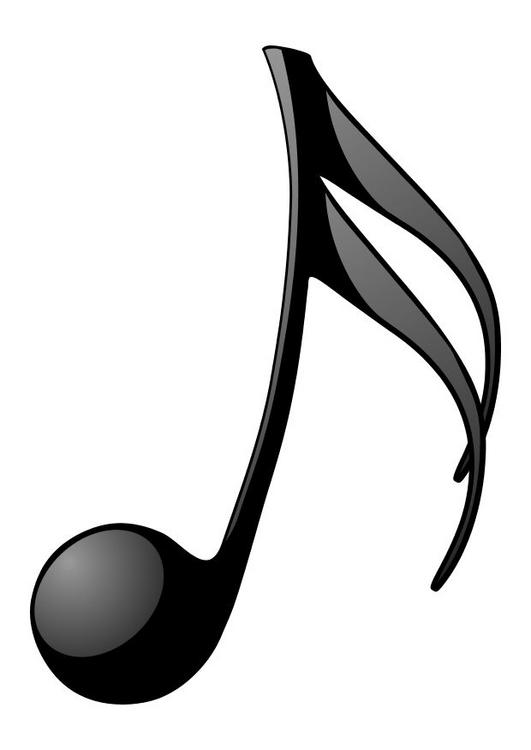 531x750 Free Music Note Silhouette And Outline For Musicians And Artists