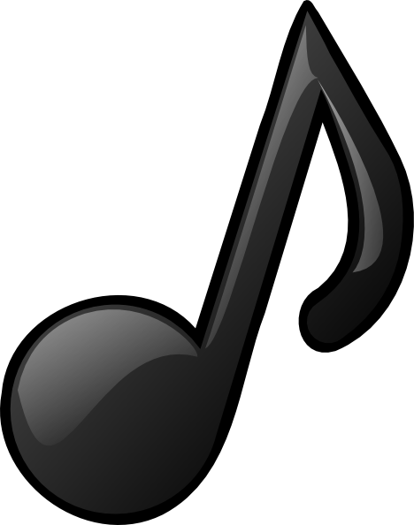 468x594 Free Music Note Silhouette And Outline For Musicians And Artists