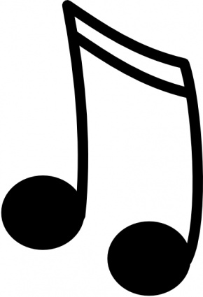 290x425 Music Note Clipart Projects To Try Music Notes