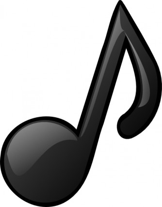 334x425 Music Notes Clipart Silhouette 3731879