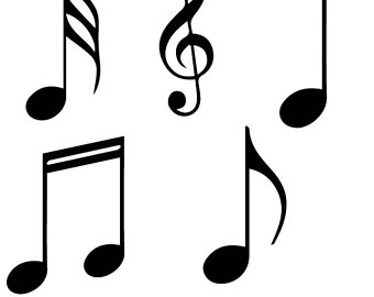 340x270 Musical Notes Etsy