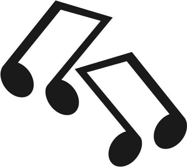600x539 Svg Music Notes Free Vector Download (87,562 Free Vector)