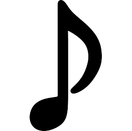 263x262 Free Svg Musical Note Silhouette Kendall Grad
