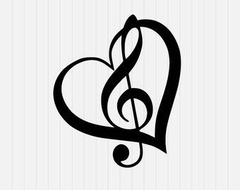 340x270 Music Note Svg Etsy