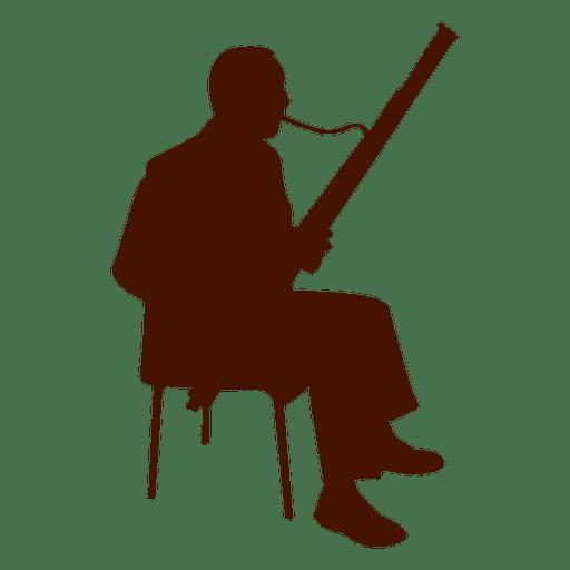 512x512 Music Instrument Musician Silhouette