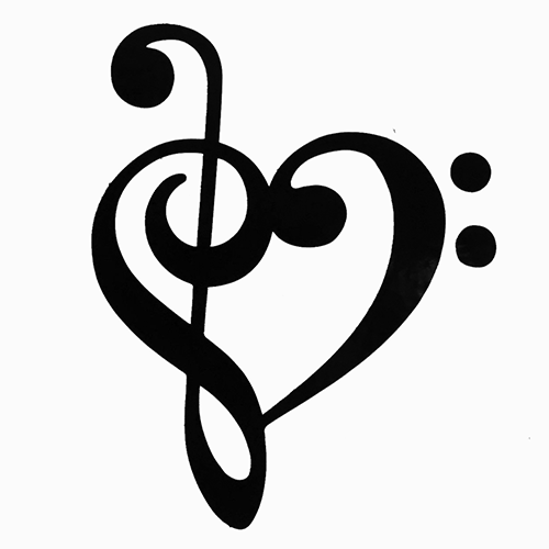 500x500 Music Notes Heart Clip Art Clipart Panda Free Clipart Images