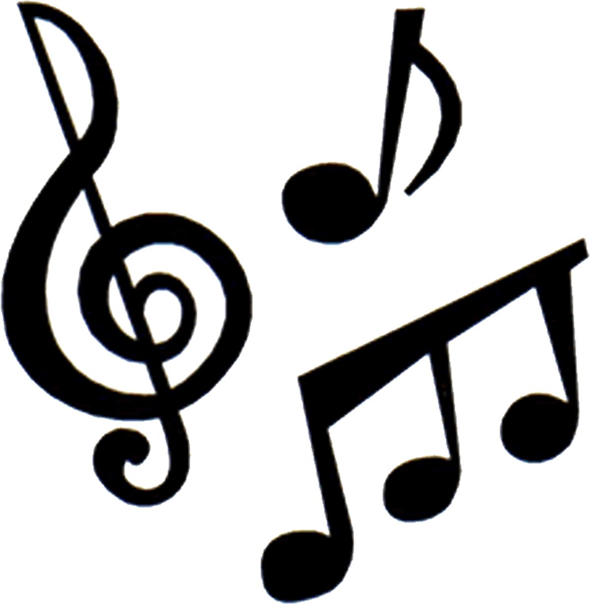 music symbol silhouette at getdrawings com free for personal use rh getdrawings com clip art of music notes and symbols clip art of music notes and symbols