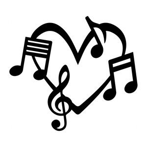 300x300 95 Best Music Images On Silhouettes, Music Notes