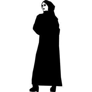 300x300 Muslim Woman Clipart, Cliparts Of Muslim Woman Free Download (Wmf