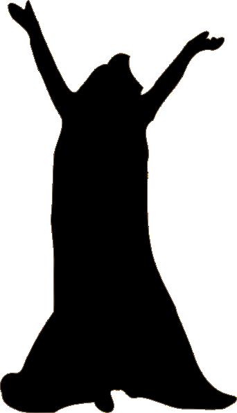 342x594 Dancer Silhouette Clip Art