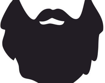 mustache silhouette clip art at getdrawings | free for personal