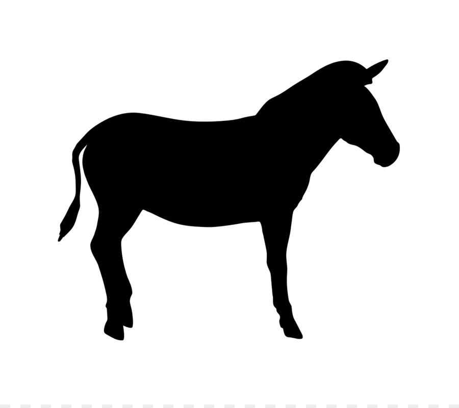 900x800 American Quarter Horse Silhouette Clip Art